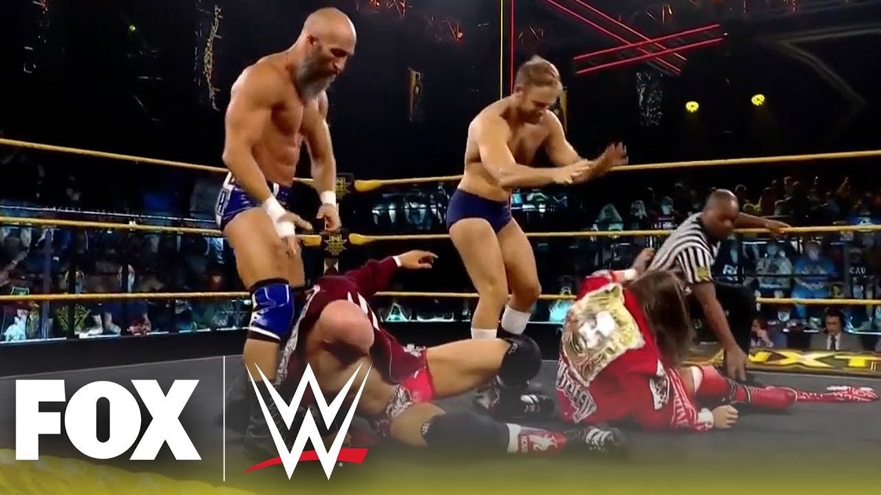 Grizzled Young Veterans face Ciampa and Thatcher in Tornado Rules Match | NXT | WWE ON FOX