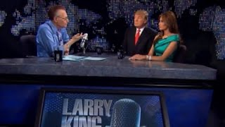 Larry King Live (2010): Trump favored racial profiling