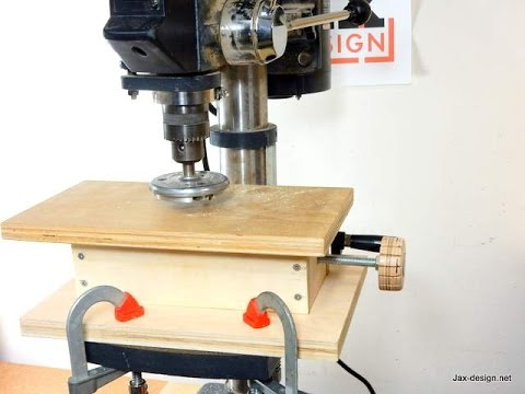 Thickness Planer Drill Press Youtube