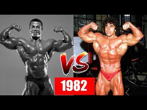 Mr. Universe VS Mr. Olympia