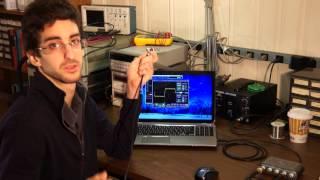 Measuring signal propagation delay in coaxial cables