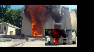 S#11 The Persistence of Fire Patterns in Post Flashover Compartment Fires
