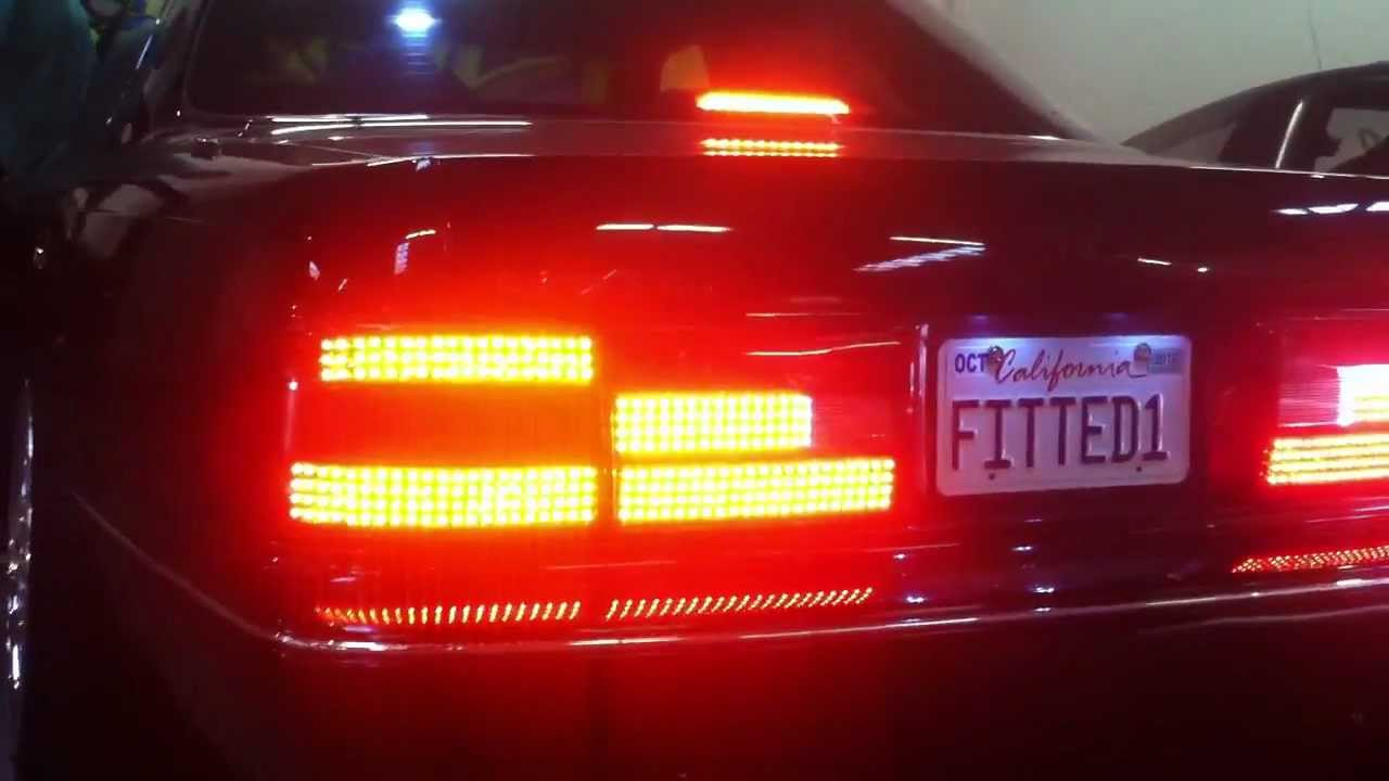 Lexus UCF10 LED Taillights SOLO8 - YouTube