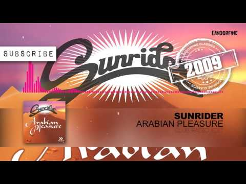 Sunrider - Arabian Pleasure (Club Radio Edit)