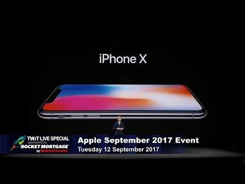 TWiT Live Specials 325: iPhone X