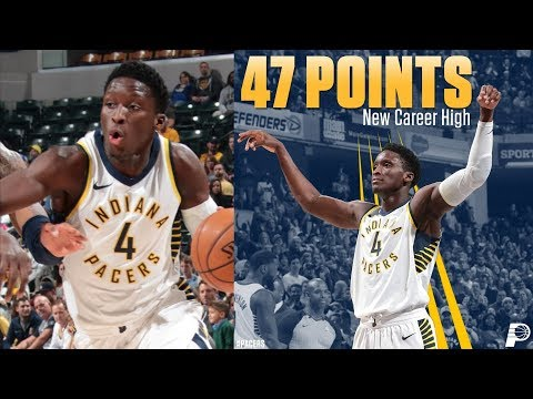 Victor Oladipo 47 Points Career High vs Nuggets! 2017-18 Season