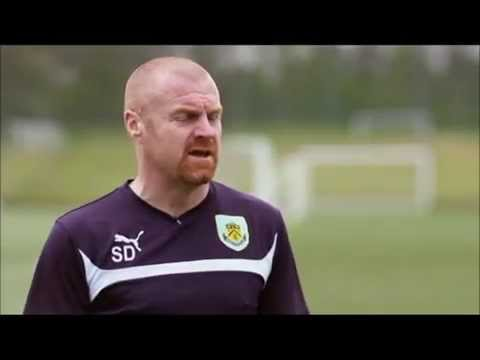 BURNLEY FC - SEAN DYCHE INTERVIEW