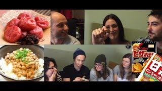外国人が日本食を食べてみたforeigners try japanese food