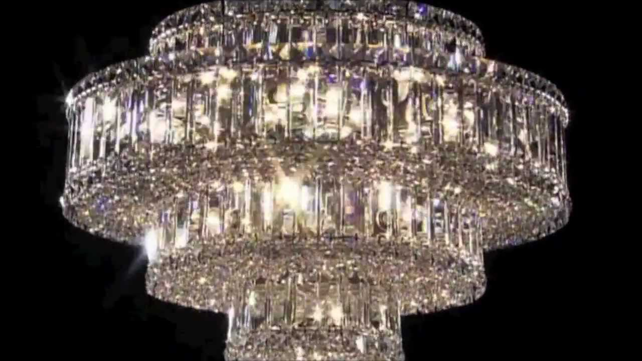 Schonbek plaza crystal chandeliers at casa di luce youtube aloadofball Image collections