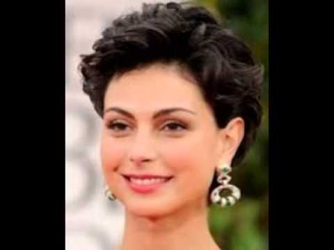 Very Short Hairstyles For Curly Hair - YouTube