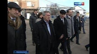 Примут меры: Василий Голубев увидел недостроенное жилье для детей-сирот в Обливском районе