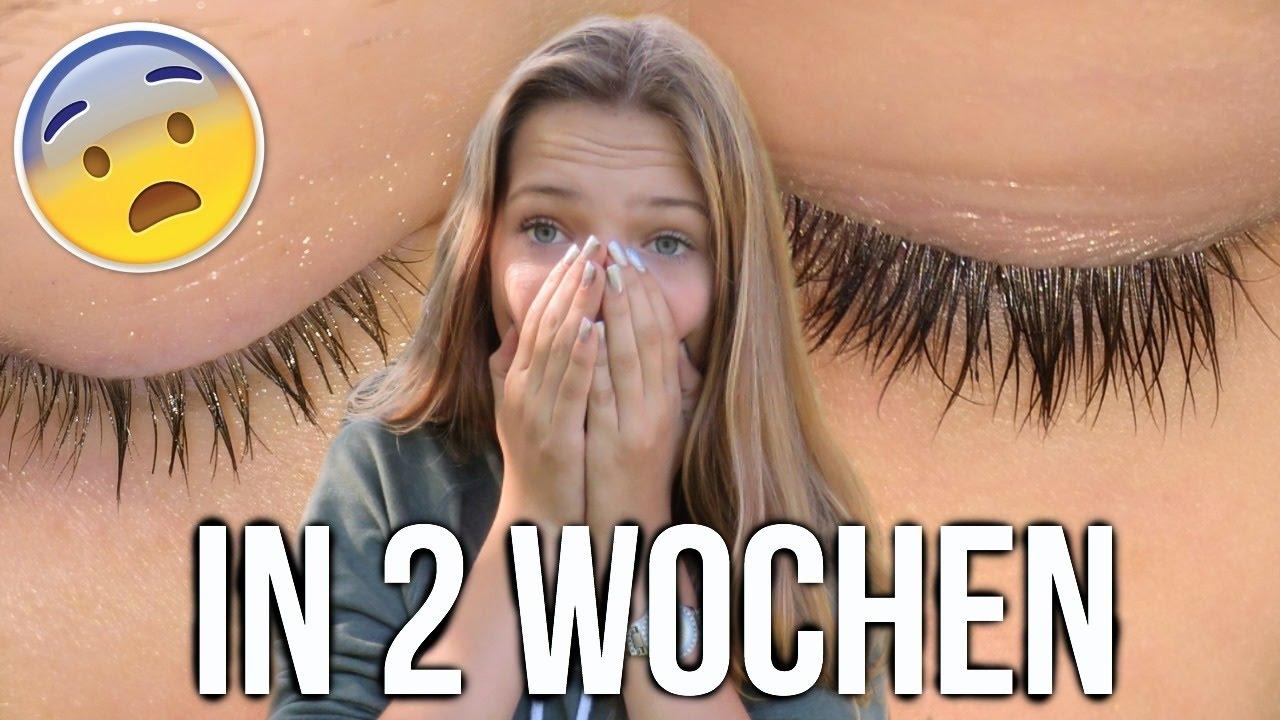 Lange Wimpern Augenbrauen In 2 Wochen Unter 2 Youtube