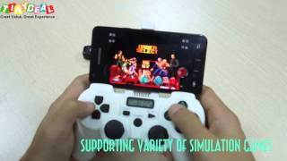 Bluetooth 3.0 wireless android simulation game controller! GBA, GBC, SFC/ SNES, FC/ NES, MD/ Genesis