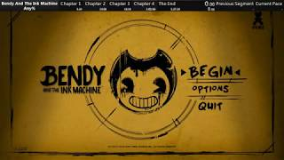 (World Record) Bendy and the Ink Machine | Any% Speedrun (1:22:09 IGT)