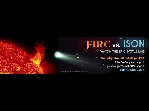 NASA Hangout: Comet ISON LIVE