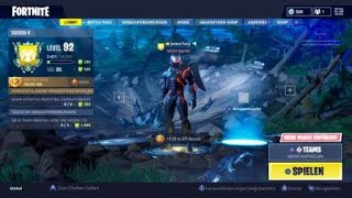 Fortnite account swapping with Black Knight and rare skins