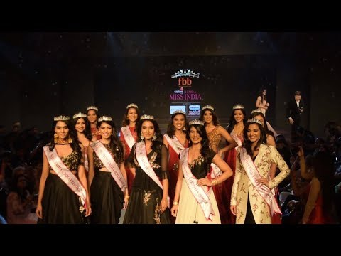 Miss India East Zone 2018 Crowning Moments
