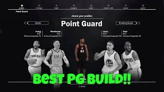 best point guard build nba 2k17   the prelude gameplay