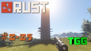 Rust- Clan Wars Ep:25 Tower Raid and Messing with CCK Clan