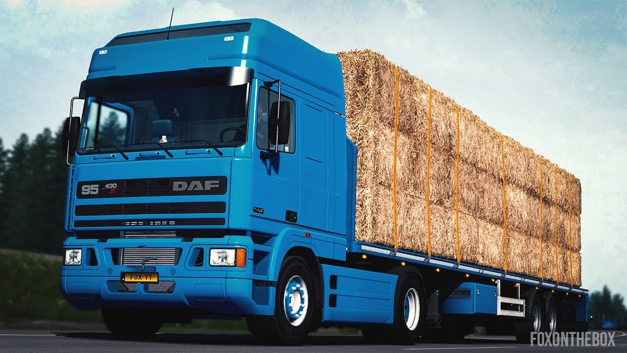 DAF 95 ATi Open Pipe Sound Mod | Euro Truck Simulator 2
