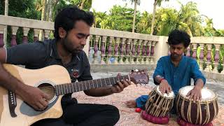 'Gratitude' Amin Toofani Cover(Guitar & Tabla)