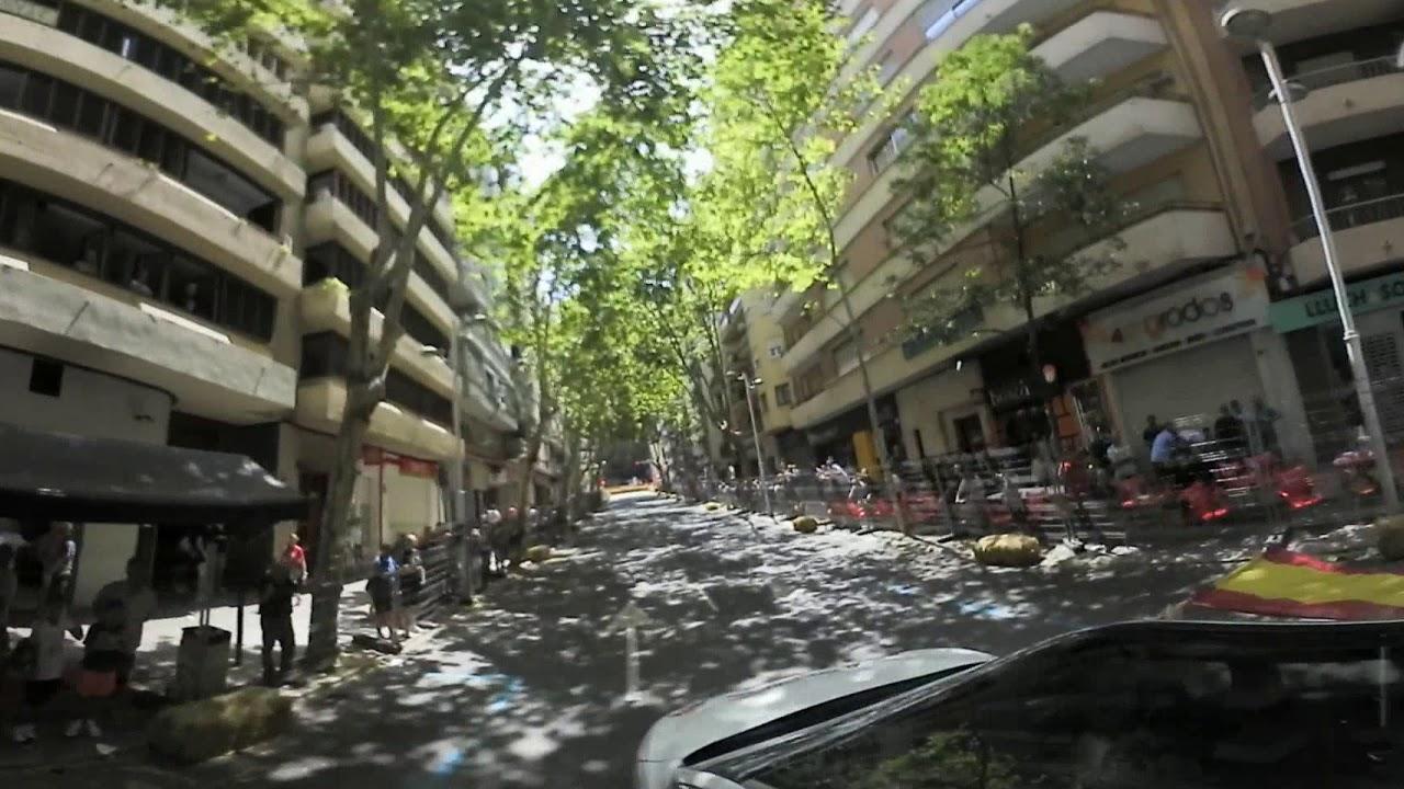 Circuito Urbano Valencia : Video º vuelta al circuito urbano de xativa valencia feria