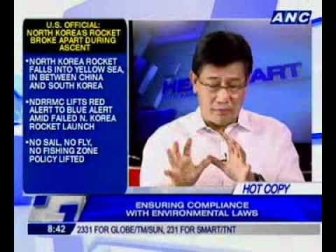 [ANC Headstart] Environment Secretary Ramon Paje on problems in Baguio, Boracay