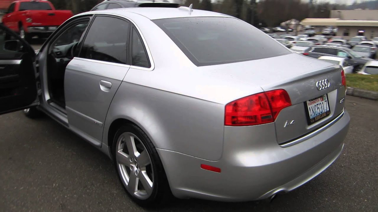 2006 Audi A4 Light Silver Metallic Stock 14796b Walk