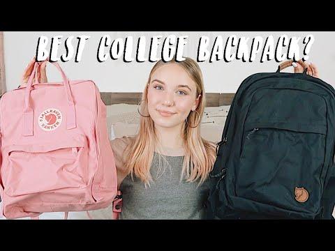 Fjallraven Kanken vs Raven | Back To School Backpack