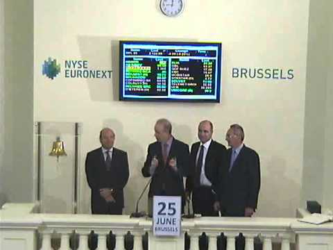 Hamon 15 Years of Listing on the Brussels Stock Exchange