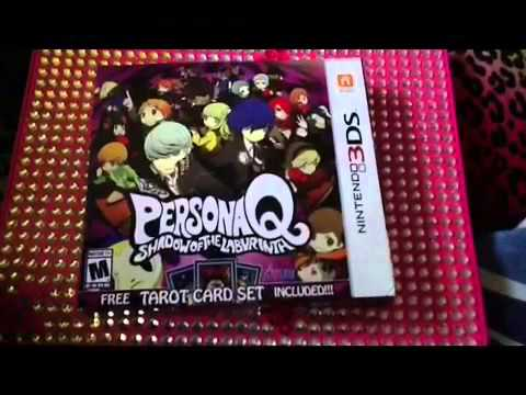 Persona Q 3DS Unboxing