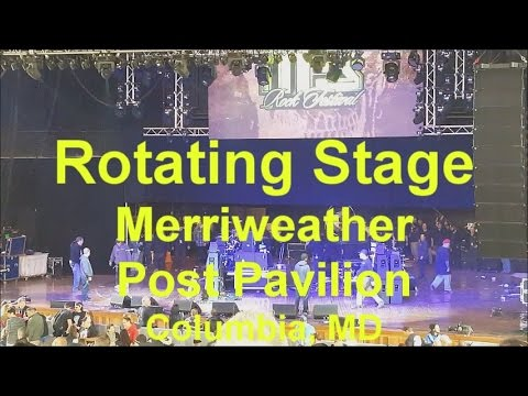 Rotating Stage at the Merriweather Post Pavilion (2016)