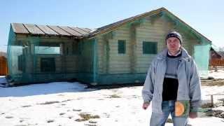 Видео строим баню(Видео строим баню. Срубы дома бани, построенный компанией