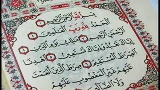 Suraye Alhamd for kids
