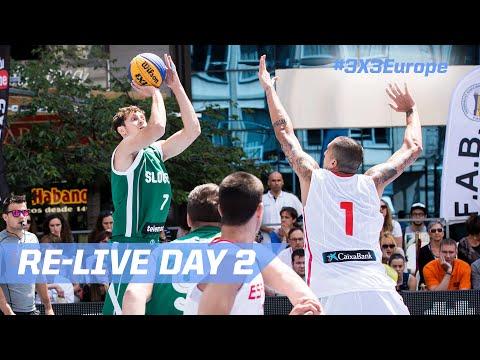 Re-Live - Andorra Day 2 - 2016 FIBA 3x3 European Championships Qualifiers