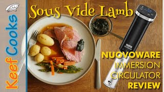 Nuovoware Immersion Circulator Review | Sous Vide Lamb
