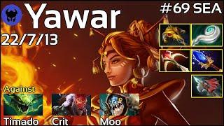 Yawar [FWD] plays Lina!!! Dota 2 7.20