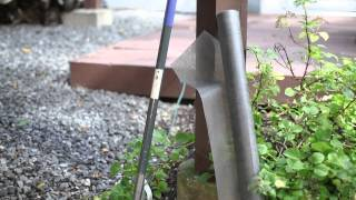 How to Lay Fabric for Landscaping Using Rock : Beautiful Garden Landscaping
