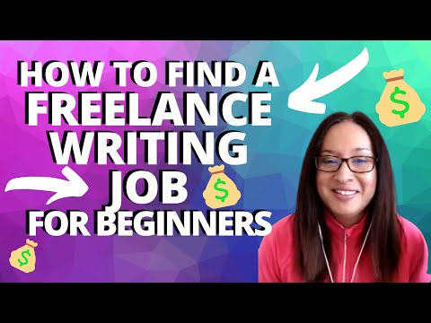 How to Find a Freelance Writing Job for Beginners