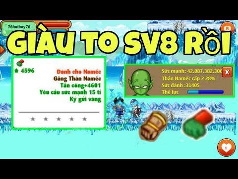 Ngọc Rồng Online - Thành Quả Quocbaos8 S8kaneyi Sau Sự Kiện X2 Giàu To Sv8 !!