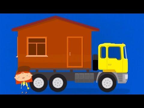 Мультфильм про грузовик и мост. Доктор Машинкова. Капуки Кануки