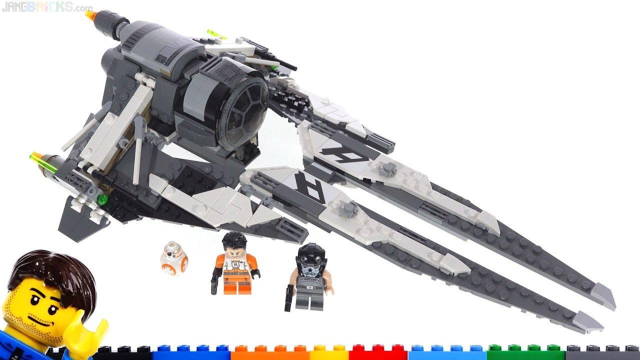 Lego Star Wars Black Ace Tie Interceptor Review 75242 Youtube
