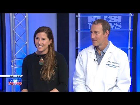 Scripps Clinic Orthopedic Surgeon Helps Marathon Runner Get Back on the Track – KUSI #Orthopedicsurgery
