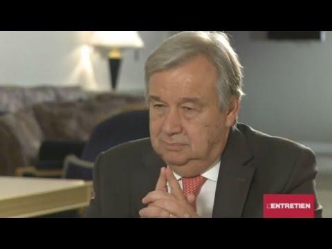 """Antonio Guterres : """"La Syrie doit être une priorité pour nous tous """""""