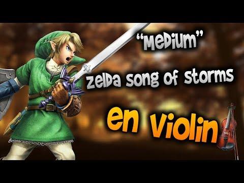 Song of Storms en Violín |tab,tutorial,partitura,como tocar|HD Tutorial