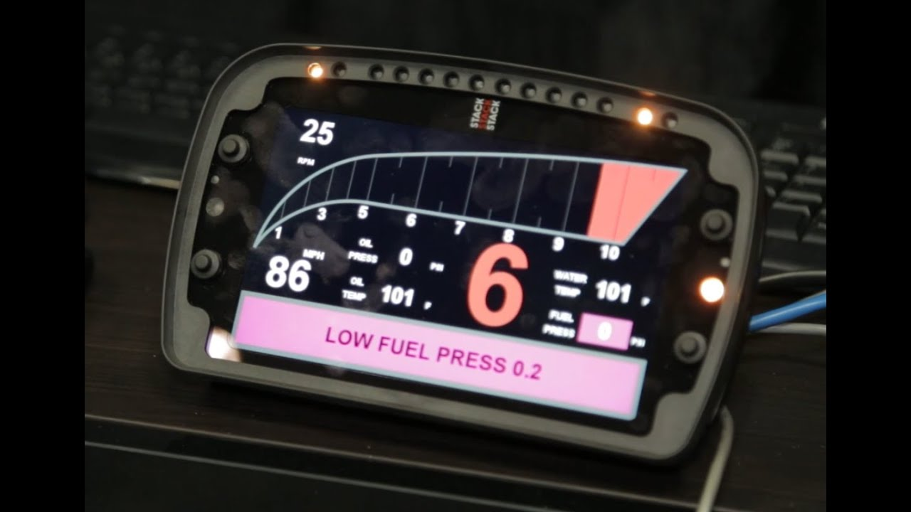 Pri 2014 Stack S Lcd Motorsports Display Is A Clear