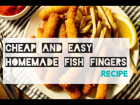 Cheap and easy home made fish finger recipe