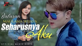 Download Ellen Zerlyan - Maulana wijaya    Balasan Lagu Seharusnya aku (Official music video)