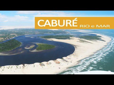 Caburé, onde o Rio e o Mar se encontram