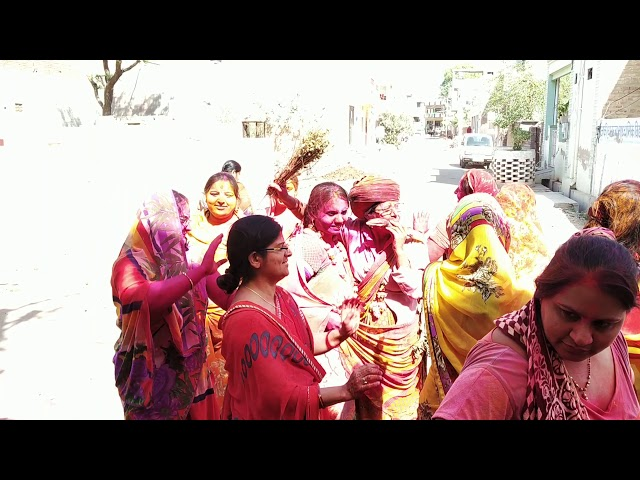 बीकानेर होली : महिलाओं ने ऐसे मचाई धमाल...